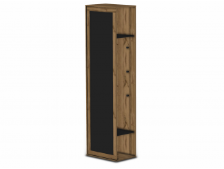 Шкаф-окончание с дверью и грифельной доской - 118н011