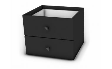 Вкладыш для стеллажа - с 2-мя ящиками - 118н106