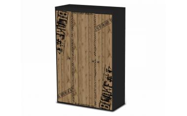 3-х дверный шкаф - 127н005
