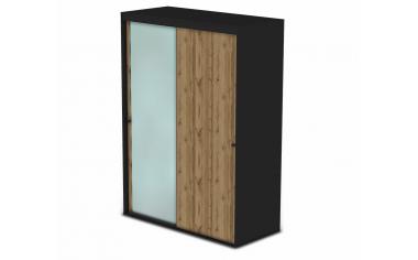 Шкаф-купе, 2-х дверный со штангами - 127н006-1z