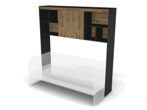 Шкаф-антресоль с 2-мя дверками - 127н100