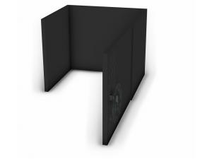 Вкладыш для стеллажа с дверкой - 127н105