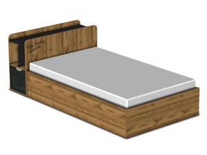 Кровать с подъемным механизмом 120*200 - 127к003