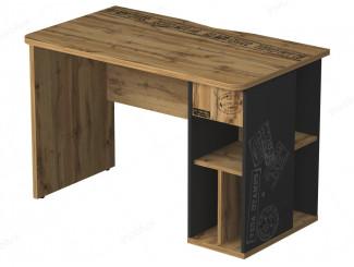 Письменный стол с тумбой СПРАВА - 127s003