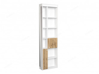 Шкаф окончание с 2-мя дверками и зеркалом - 118н010 - ПРАВЫЙ