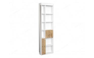 Шкаф окончание с 2-мя дверками и зеркалом - 118н010