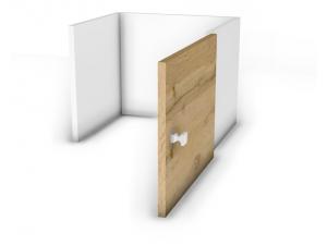Вкладыш с дверкой для стеллажа - 118н105