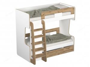2-х ярусная кровать с лестницей - 118к003