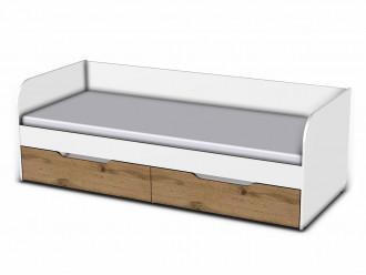 Кровать, сп. место - 80*200, без ящиков - 118к023