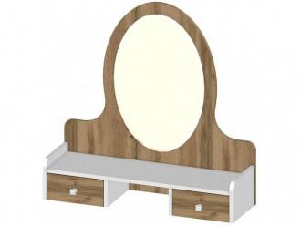 Надставка с овальным зеркалом - 118р001