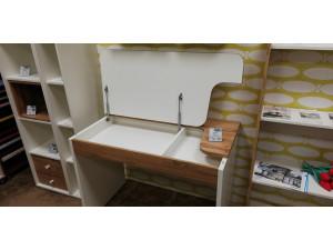 Письменный стол с крышкой - 118s002 - ЛЕВЫЙ