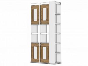 Комплект из 2-х дверей - 118н0023 для стеллажа