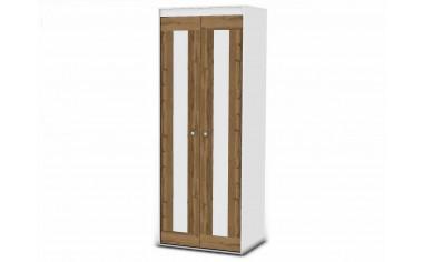 2-х дверный шкаф - 118н003 со штангой