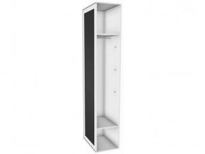 Шкаф окончание с дверкой для рисования и зеркалом - 118н011 - ЛЕВЫЙ