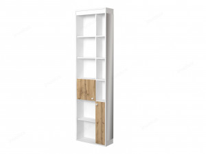 Шкаф окончание с 2-мя дверками и зеркалом - 118н009