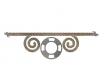 1-дверный шкаф со штангой - 93н016 (ЛЕВЫЙ)
