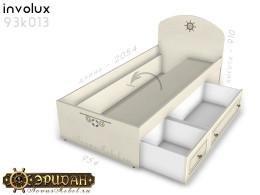 Кровать - 90*200 с ящиками - 93к013