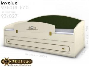 Мягкая спинка для кровати - 93к070