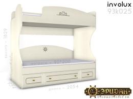 Двухярусная кровать, без лестницы - 93к025