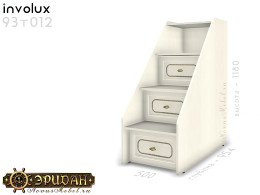 Лестница с ящиками, для 2-х ярусной кровати - 93т012