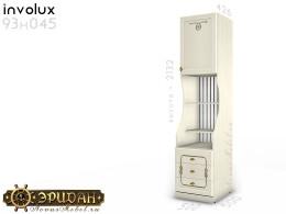 1-дв. шкаф с полками и ящиками - 93н045