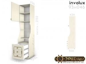 1-дв. шкаф с полками и ящиками - 93н046