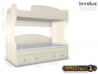 Двухярусная кровать, без лестницы - 93к023