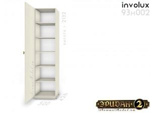 1-дверный шкаф с 5-ю полками - 93н002