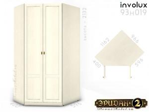 Угловой 2-х дверный шкаф - 93н019