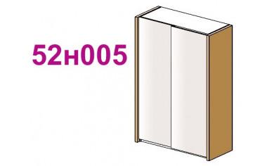 Шкаф-купе для спальни - 52н005