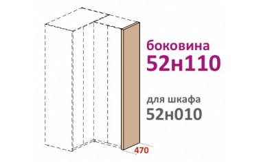Декоративная боковина для шкафа - 52н110
