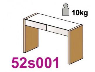 Стол туалетный с 2-мя ящиками - 52s001