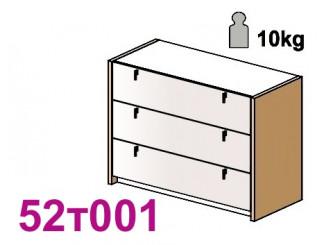 Комод широкий с 3-мя ящиками - 52т001