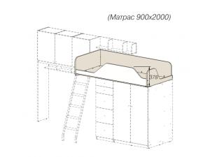 Кровать-чердак - 92к001