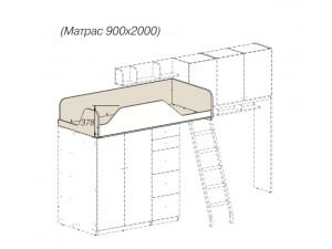 Кровать-чердак - 92к002