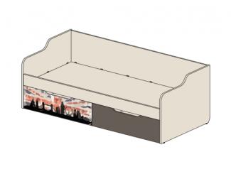 Кровать-тахта с 2-мя ящиками - 92к031
