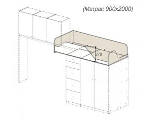Кровать-чердак - 92к151