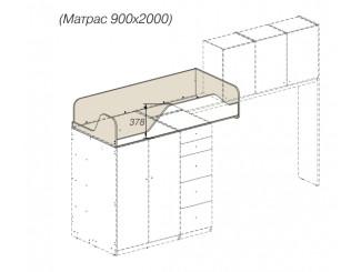 Кровать-чердак - 92к152