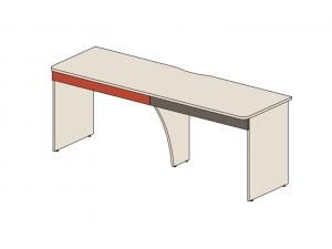 Двойной письменный стол с 2-мя ящиками - 92s001