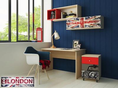 Подростковая мебель Гео Лондон