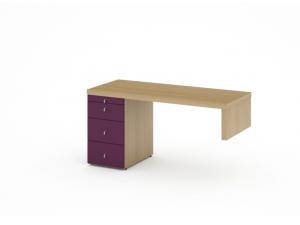 Письменный стол с тумбой - 53в101