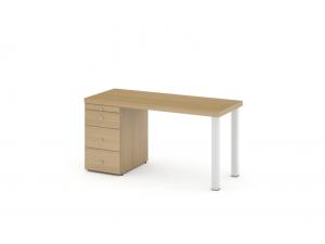 Письменный стол с тумбой - 53s002