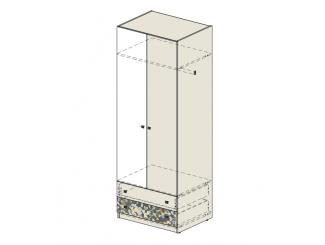 2-х-дверный шкаф со штангой - 92н020