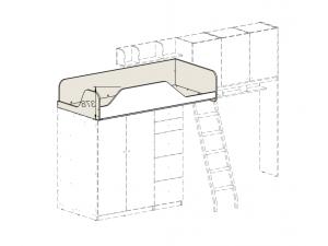кровать-чердак без лестницы - 92к002