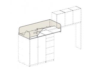 кровать-чердак без лестницы - 92к152