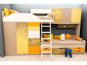 Металлическая лестница для 2-х ярусной кровати - 92k092