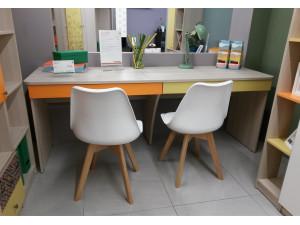 Двойной письменный стол с 2мя ящиками - 92s001