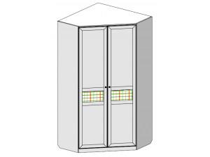 Угловой двух-дверный шкаф без карниза- 69н034