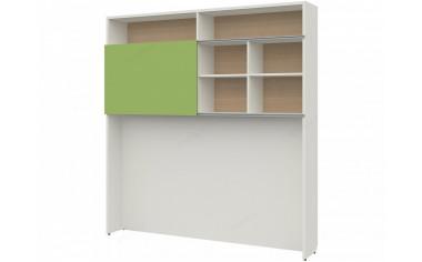 Шкаф-стеллаж с раздвижным фасадом - 51н201
