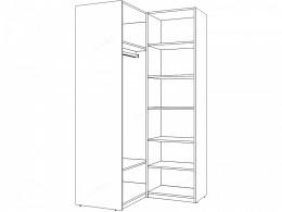 Шкаф 4-х дверный, угловой - 51н020